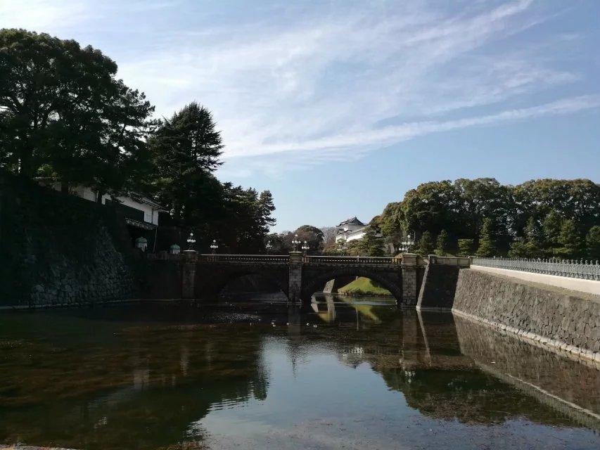 日本皇宫外苑